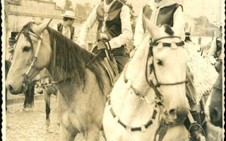 'Rogério (vereador) e Renato a cavalo '1970 a 1979